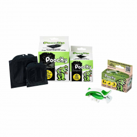 1 - Starter Bundle - Poochy Clip + Medium and Large Bag Packs
