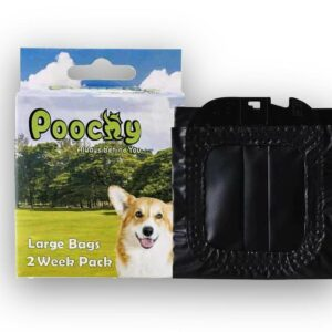 Poochy large bag pack - 2 weeks